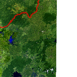 Satellite Imagery Cambodia 1975 and 2014 - Interactive Web Map